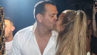 Alex Rodriguez und Jennifer Lopez