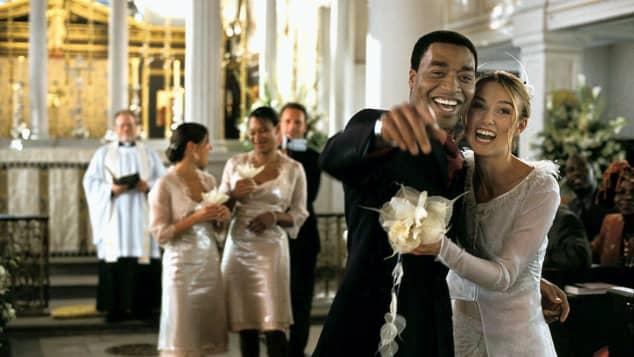 """Chiwetel Ejiofor und Keira Knightley in """"Tatsächlich...Liebe"""""""