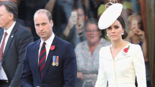 Prinz William Herzogin Kate Belgien