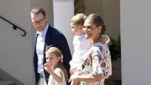 Daniel, Estelle, Oscar und Victoria