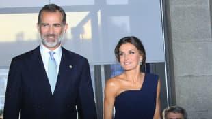 König Felipe von Spanien und Königin Letizia von Spanien