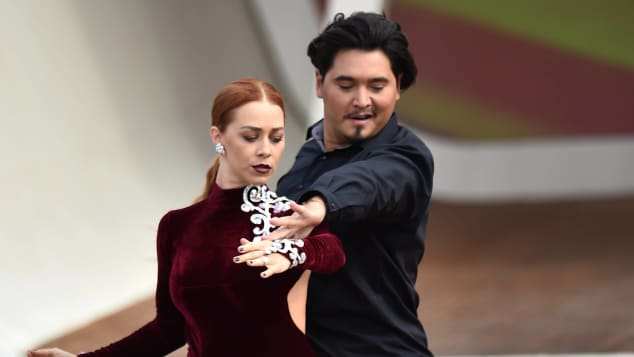 Oana Nechiti und Erich Klann