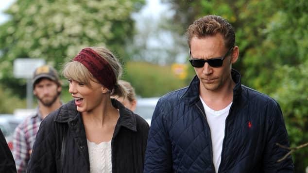 Tom Hiddleston und Taylor Swift