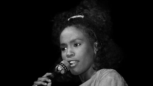 Whitney Houston im Jahr 1985