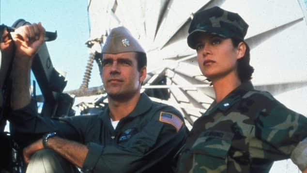 """Catherine Bell und David James Elliott in """"JAG - Im Auftrag der Ehre"""""""