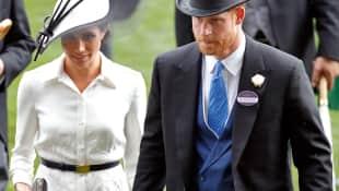 Herzogin Meghan und Prinz Harry Ascot