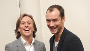 Jeremy Gilley und Jude Law