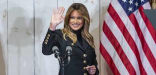 Melania Trump beim Make America Great Again Event am 31. Oktober 2020