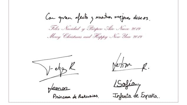 Weihnachtsgrüße An Eltern.Spanische Royals Das Ist Ihre Süße Weihnachtskarte