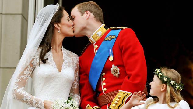 Herzogin Kate und Prinz William gaben sich im April 2011 das Jawort