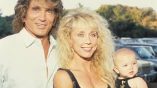 Michael Landon und seine Frau Cindy