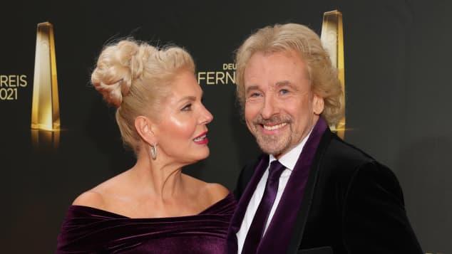 Thomas Gottschalk und Karina