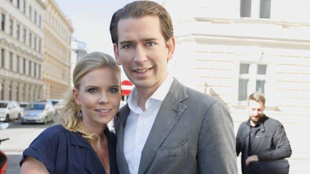 Susanne Thier und Sebastian Kurz