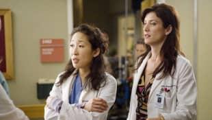 """Grey's Anatomy"": Kate Walsh, Sandra Oh"