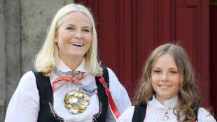 Prinzessin Mette-Marit und Prinzessin Ingrid Alexandra