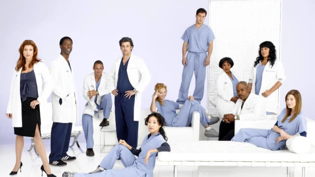 """""""Grey's Anatomy"""": Cast"""
