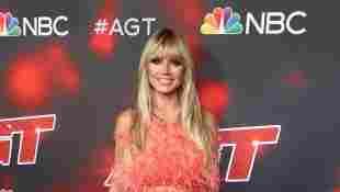 """Heidi Klum auf dem roten Teppich für die Live Shows der 16. Staffel von """"America's Got Talent"""" am 10. August 2021"""