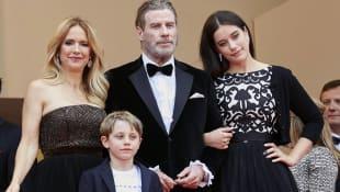 John Travolta mit Kindern