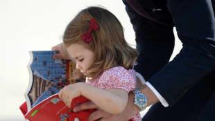 Prinz William und Prinzessin Charlotte