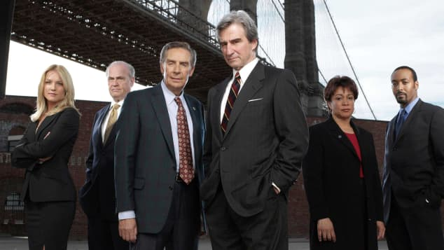 """Law & Order"" stars cast"