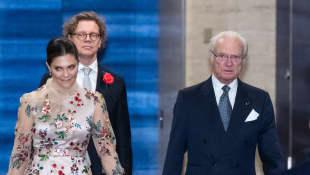 Prinzessin Victoria und König Carl Gustaf