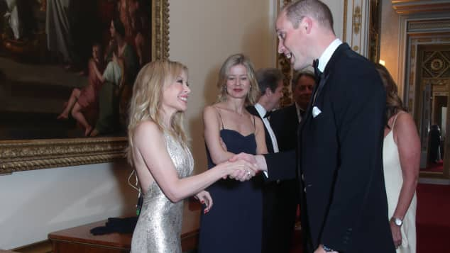 Prinz William Kylie Minogue