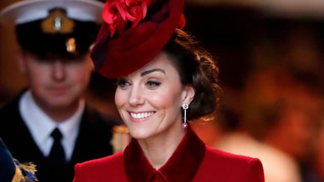 Herzogin Kate im März