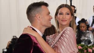 Gisele Bündchen Tom Brady Met Gala