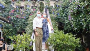 König Felipe und Königin Letizia Cordoba Spanien