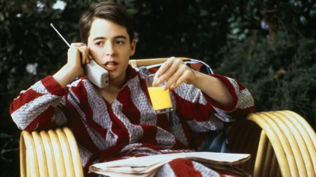 """""""Ferris macht blau"""": Matthew Broderick"""