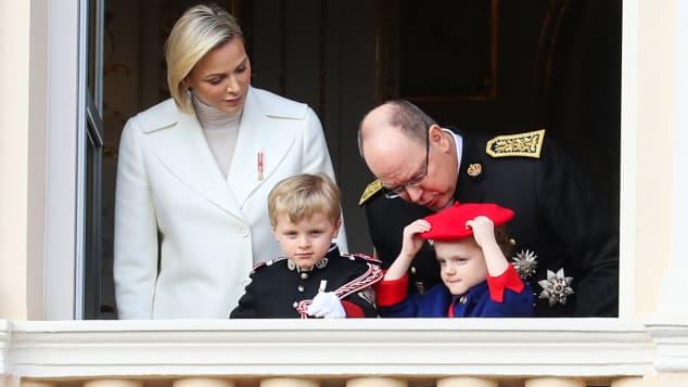 Prinz Jacques und Prinzessin Gabriella von Monaco