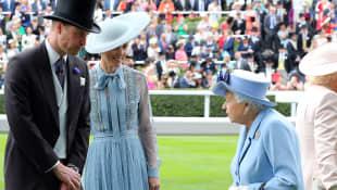 Prinz William, Herzogin Kate und Königin Elisabeth II.