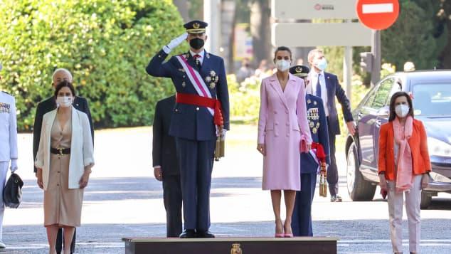 König Felipe VI. und Königin Letizia