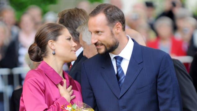 Prinz Haakon und Prinzessin Victoria