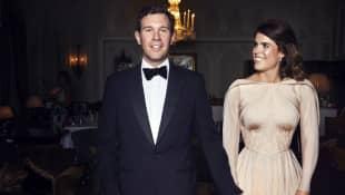 Jack Brooksbank und Prinzessin Eugenie bei ihrer privaten Hochzeitsfeier