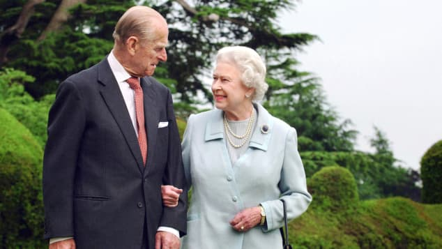 Queen Elisabeth II. und Prinz Philip