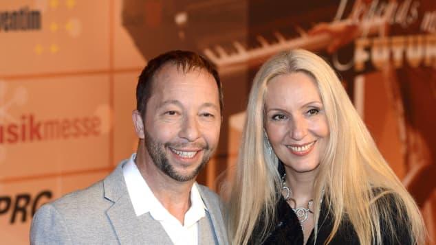 DJ Bobo und Nancy Baumann