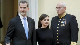 König Filipe und Königin Letizia