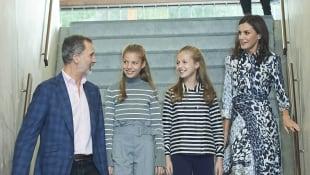 König Felipe, Prinzessin Sofia, Prinzessin Leonor und Königin Letizia