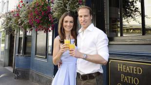 Kate Middletons und Prinz Williams Doubles: Heidi Agan und Simon Watkinson