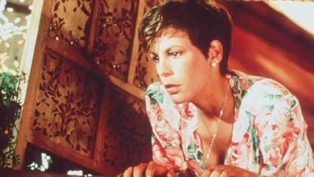 """Jamie Lee Curtis 1988 in """"Ein Fisch namens Wanda"""""""