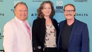 Kevin Burchett, Tracy Nelson und Mitch Vogel