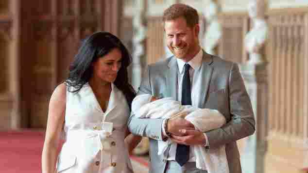 Prinz Harry Herzogin Meghan Baby Sussex Bilder Fotos