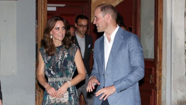 Herzogin Kate und Prinz William in Deutschland 2017