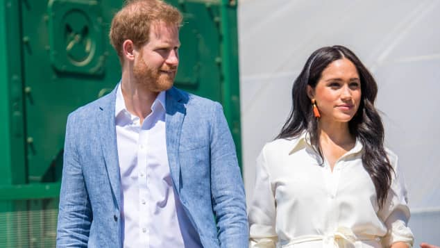 Prinz Harry Herzogin Meghan Afrika