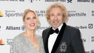 Thomas Gottschalk und Karina Mroß