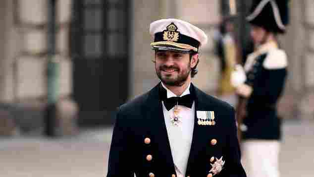 Prinz Carl Philip von Schweden vor der Hochzeit mit Prinzessin Sofia am 13. Juni 2015 in Stockholm
