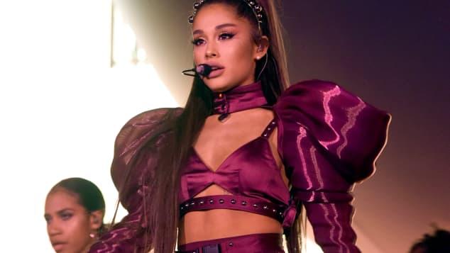 Ariana Grande auf dem Coachella Festival 2019
