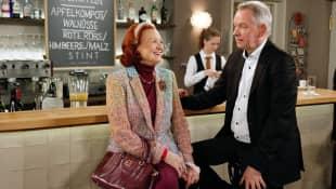 """Brigitte Antonius und Lutz Marmor in """"Rote Rosen"""""""