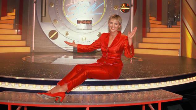 """Ulla Kock am Brink bei """"Die 100.000 Mark Show"""""""